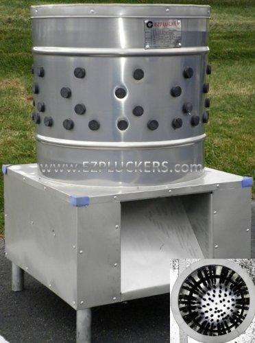 Ezplucker Ez-131 Stainless Steel Chicken Plucker Defeather Machine front-1056046