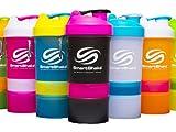 SmartShake(スマートシェイク) 600ml 多機能プロテインシェイカー Mix Color