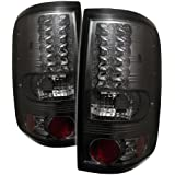 Rxmotoring 04 05 Ford F150 Tail Lights Styleside + 8 Led Bumper Fog Lamps