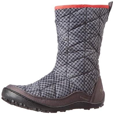 Columbia Women's Minx Slip-On Omni-Heat Winter Boot,Shale,5 M US