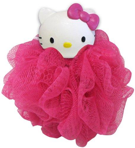 Ginsey Hello Kitty Bath Pouf- Pink - 1