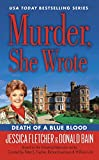 img - for Murder, She Wrote: Death of a Blue Blood book / textbook / text book
