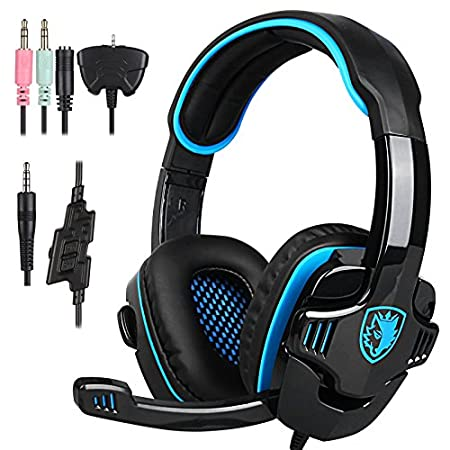 SADES SA-708 GT Stereo HiFi Gaming Headphone Headset with Microphone for XBOX 360/PS4/PC/Notebook/Laptop