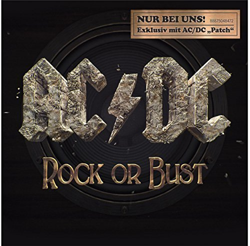 "Rock Or Bust - Exklusive Edition with AC/DC ""Patch"" - German Version by AC/DC (2014-01-01)"