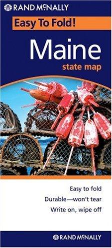 Rand McNally Easy To Fold: Maine (Laminated) (Easyfinder Maps)