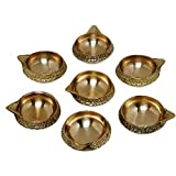 Brass Kuber Diya Brass Deepak Diwali Pooja Item - Deepawali Lighting Brass Oil Diya Diwali Decoration Pooja And...