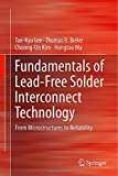 img - for Fundamentals of Lead-Free Solder Interconnect Technology: From Microstructures to Reliability book / textbook / text book