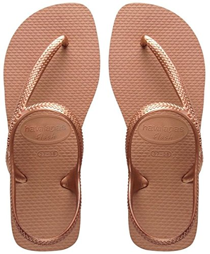 Havaianas Flash Urban, Infradito Donna, Rose gold, 39/40 EU (37/38 BR)