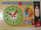 Goula - Reloj calendario, en alemán (Diset 51319)
