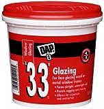 Dap 12122 33 Glazing Compound, 1-Quart, White