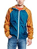 French Connection Chaqueta (Azul / Naranja)