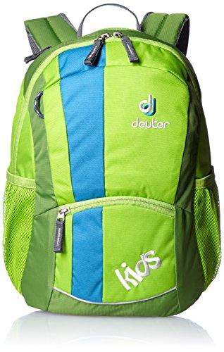 Deuter-Unisex-Kinder-Rucksack-Kids-green-36-x-22-x-18-cm-12-Liter-3601320080