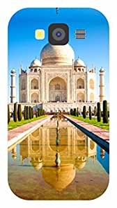 Dot Print Back Cover For Samsung Galaxy Grand Neo GT-I9060 Beautiful Taj Mahal With Water Reflection Printed Case