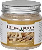 Herbal Roots Sandalwood Face and Body Scrub - 100gm- MRP- Rs. 599