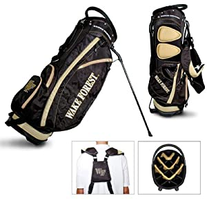 Wake Forest Demon Deacons Ncaa Stand Bag - 14 Way (Fairway) by Team Golf