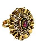 Via Mazzini Ghaniyah Ruby Centerpiece Ring