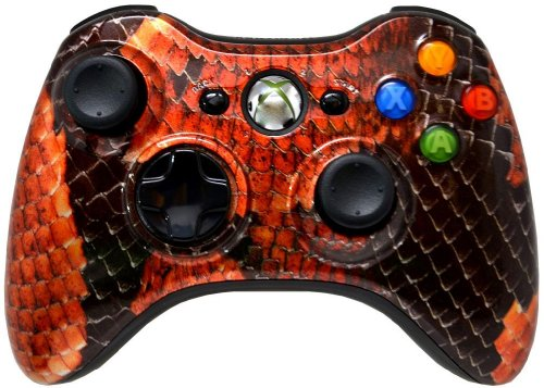 5,500+ Mode Modded Gaming Controller For Xbox 360 & PC In Custom BOA SNAKE SHELL!!! Hydro-Dipped Shell (New High Quality Finish) Will Not Chip, Scratch, or Fade -Sniper Quick Scope & Hold Your Breath,Jitter,Drop Shot,Jump Shot,Auto Aim For Nazi Zombies, Special Ops & Campaign Missions, Auto Burst 1 To 8 Rounds Per Trigger Pull,Quick Aim,Dual/Akimbo,Mimic, And More