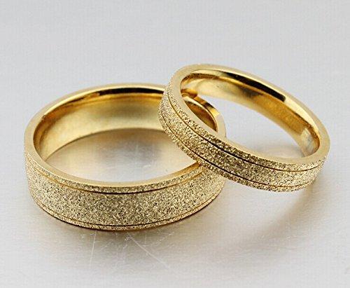 galleon the new titanium steel plated 18k gold wedding