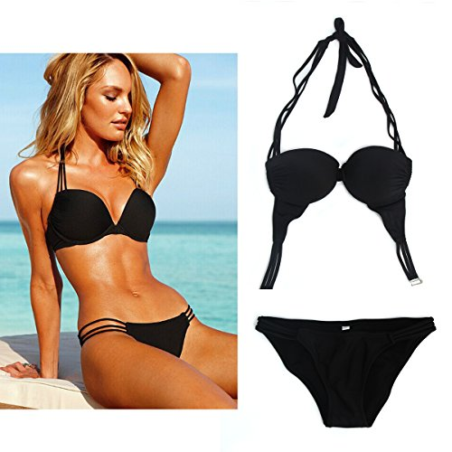 Uplure Women Sexy 2 Pieces Padded Bathing Swimsuit Swimwear Bikini
