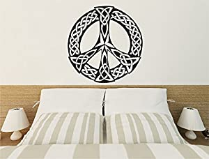Osmdecals Peace Symbol Celtic Knot Home