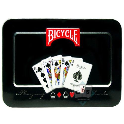 Bicycle Playing Card Collector Tin - Caja de lata de Coleccion con Naipes Bicycle - 1