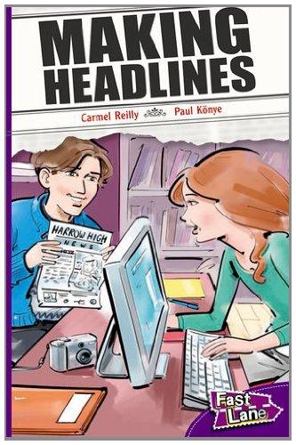 Making Headlines Fast Lane Purple Fiction