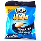 Kp Jumbo Salt and Vinegar Peanuts 180g