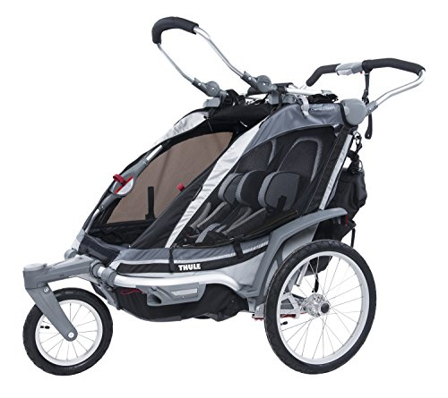 Thule Chinook Two-Child Carrier for Stroll/Jog, Black (Thule Active With Kids compare prices)
