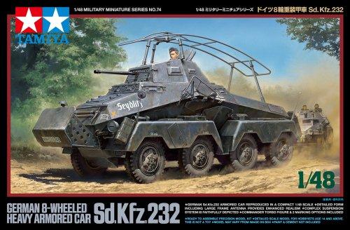 1/48 ミリタリーミニチュアシリーズ No.74 ドイツ 8輪装甲車 Sd.Kfz.232 32574