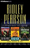 Ridley Pearson CD Collection: The Pied Piper, The First Victim, Parallel Lies (Ridley Pearson Collection)