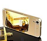 Vandot Luxus Mirror Metall Zurück Case Cover für HTC