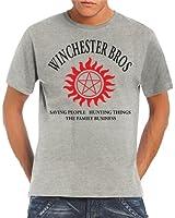 Touchlines Herren T-Shirt Winchester Bros Family