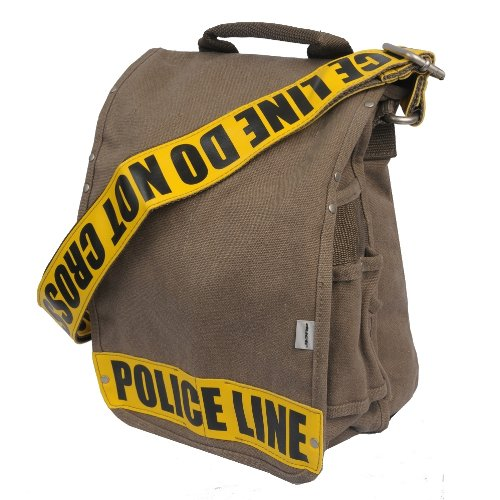 ducti-police-line-utility-messenger-bag-yellow