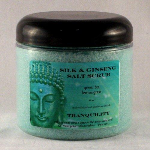 16 oz Zen Silk  Ginseng Salt Scrub TranquilityB00014VTK0