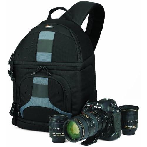【国内正規品】Lowepro カメラバッグ スリングショット200AW ブラック/グレー 347375