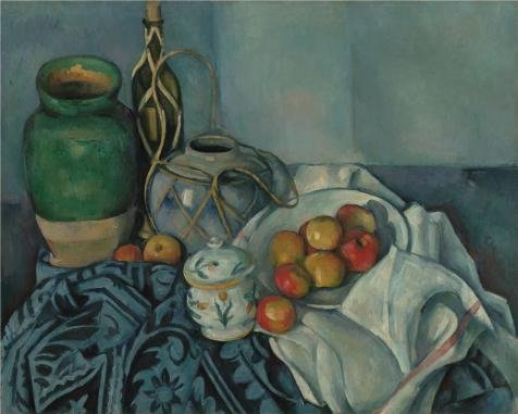 'Still Life with Apples, 1894 By Paul Cezanne' oil painting, 18x22 inch / 46x57 cm ,printed on Perfect effect Canvas ,this Reproductions Art Decorative Canvas Prints is perfectly suitalbe for Home Theater decoration and Home artwork and Gifts