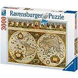 Ravensburger 17054 - Blaeuw: Weltkarte 1665 - 3000 Teile Puzzle