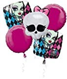 Disney Monster High Balloon Birthday Party Favor Supplies 5ct Foil Balloon Bouquet