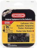 Oregon S56 16-Inch Semi Chisel Chain Saw Chain Fits Craftsman, Echo, Homelite, Poulan, Remington