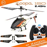 zoopa AA0170 - zoopa 150 Turbo Force Back, funkferngesteuerter(2,4GHz) 3-Kanal Helikopte