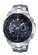 Casio ECW-M300EDB-1AER Mens Edifice Dual Display Watch