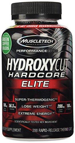 Hydroxycut Hardcore Elite - grain de café vert