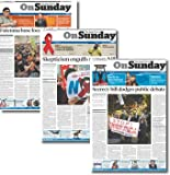 The Japan Times On Sunday 13週定期購読