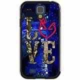 Samsung Galaxy S4 Case Design Browning Customize Personalized Back Cover, Diy Made-Order Tokyo Christmas Garlands Black White