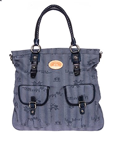 LA MARTINA Donne Shopping bag blu one size