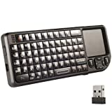 Mini 2.4GHz Wireless Keyboard US Layout Rii Branded With Touchpad Universale for PC Laptop Google Andriod Smart TV Box XBOX PS3 CN47