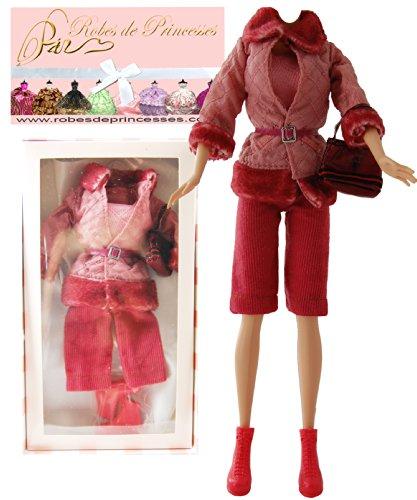"""Vestito da principessa """"BABY"""" per Bambole Barbie, Disney ed altri personaggi."""