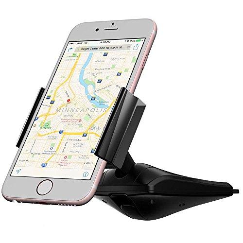 Vena Supporto Auto Smartphone CD Slot [DISC55 One Hand] universale Car Mount Holder per iPhone 7/7 Plus/SE/6S Plus, Galaxy S7/S7 Edge/Note 5, LG G3, Google Pixel / XL, Moto G4/G4 Plus
