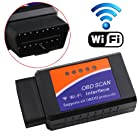 iKKEGOL WIFI Wireless OBD2 OBDII Car Auto Diagnostic Scanner Adapter Reader for iPhone4S/ 5 iPad 4 iPad mini iOS PC