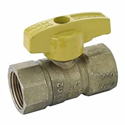 BrassCraft PSBV503-8 Gas Shut Off Valve